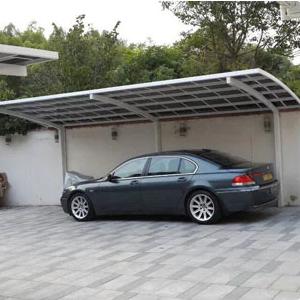 阳光板车棚雨棚